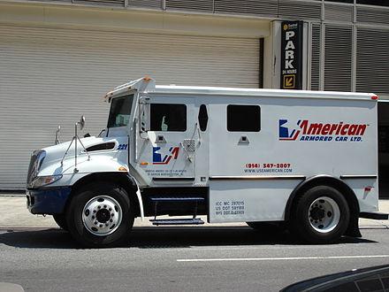 camion blindé