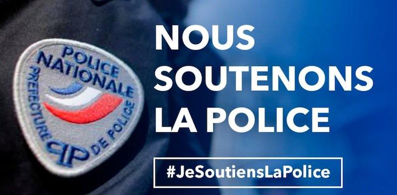 nous soutenons la police